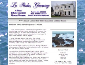 La Roche Guest House website